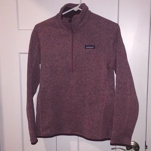 Like new Patagonia better sweater quarter zip up